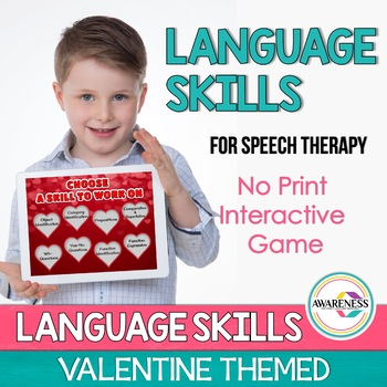 Language Skills Pack No-Print - Valentine Themed 50%24hrs