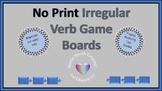 No Print/No Prep Irregular Verb Game Boards Wide Aspect Ratio