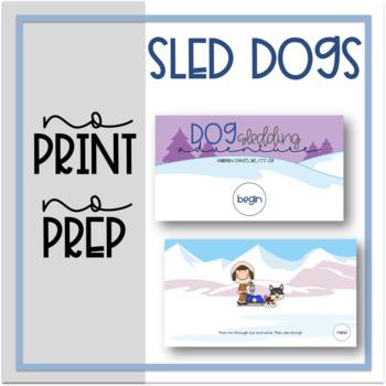 No Print, No Prep: Sled Dogs
