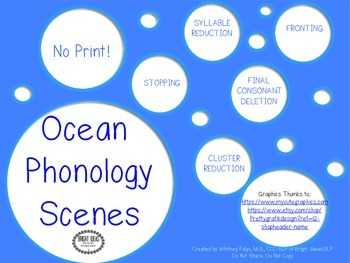 No Print Ocean Phonology Scenes