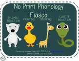 No Print Phonology Fiasco