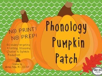 No Print Phonology Pumpkin Patch