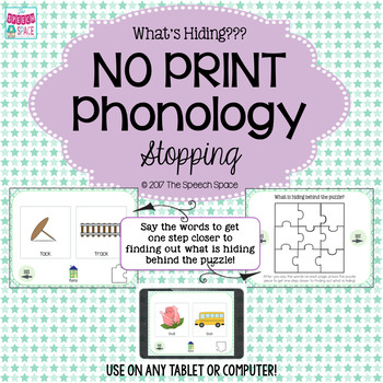 No Print Phonology: Stopping