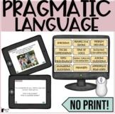 No Print Pragmatic Language   Social Language Activities f