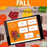 No Print Preschool Language Kit: Fall Distance Learning