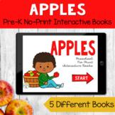 No Print Preschool Language Speech Therapy Kit: Apples   D