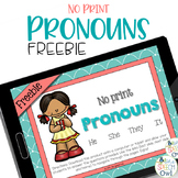 FREEBIE: No Print Pronouns