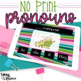 No Print Pronouns