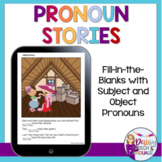 No Print Pronouns for Speech Therapy | Teletherapy