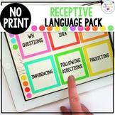No Print Receptive Language Pack