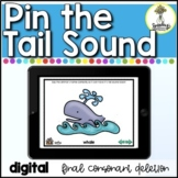 No Print Speech Therapy - Final Consonant Deletion - Pin T