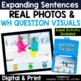 No Print Speech Therapy Real Photo Activities Bundle | Story Starters