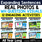 Photo Scenes Activity Bundle   Distance Learning   Speech Therapy