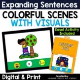 No Print Autumn Fun Pronouns Verbs & Simple Sentences
