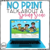 No Print Spring Talk About a Scene