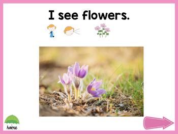 No Print Spring Vocabulary Builder