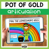 Leprechaun No Print Articulation Activity