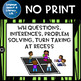 No Print Summer Activity Bundle Pronouns Verbs Wh Questions Inferences