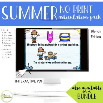 NO PRINT Summer Articulation Blends Edition