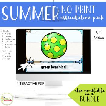 NO PRINT Summer Articulation CH Edition
