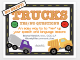 No Print TRUCK Yes/No Questions