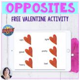 No Print Valentine Opposite Free Boom Activity