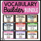 NO Print Vocabulary Builder Bundle