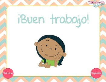 No Print Walkin' On Prepositions Spanish Freebie