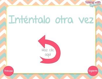 FREEBIE Spanish Speech Therapy No Print Prepositions