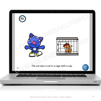 No Print  - What Does the Cat See? Articulation & Alliteration of the K Sound
