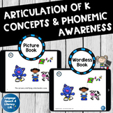 *No Print Articulation & Alliteration of the K Sound Speech Therapy Intervention