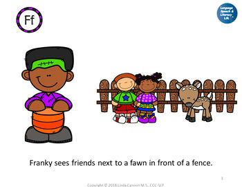 *No Print  - What Does the Franky See? Articulation & Alliteration of  F Sound