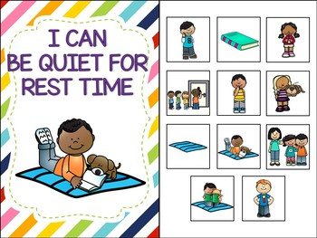 No-Print and Interactive Social Story I Can Be Quiet