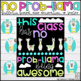 No Prob-Llama Alpaca Themed Bulletin Board, Door Decor, or Poster