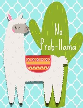 No Prob-llama and Cactus Decor