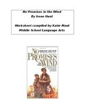 No Promises in the Wind Chapters 10-11 Worksheet