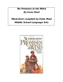 No Promises in the Wind Chapters 6-7 Worksheet