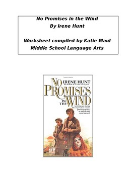 No Promises in the Wind Chapters 8-9 Worksheet