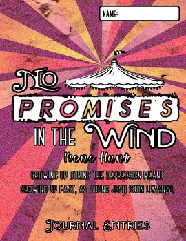 No Promises in the Wind - Double Entry Journals