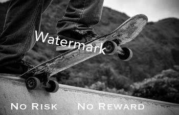 No Risk No Reward Poster - Career, Business, Entrepreneurship, Bulletin Board
