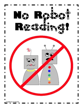 No Robot Reading!