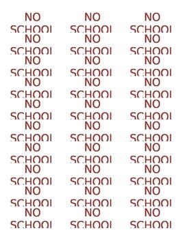 No School Labels
