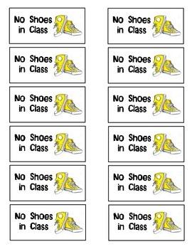 No Shoes Coupon