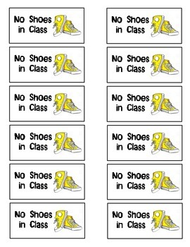 No Shoes Coupon