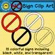 No Sign Clip Art