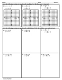 One Solution - No Solution - Infinitely Many Solutions Worksheet