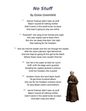 """No Stuff"" by Eloise Greenfield - Harriet Tubman Poem and Questions"