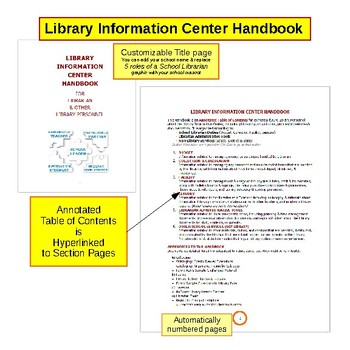 NoSweat Librarian's Handbook for your School Library