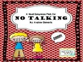 No Talking Novel Companion Pack