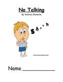 No Talking Novel Study